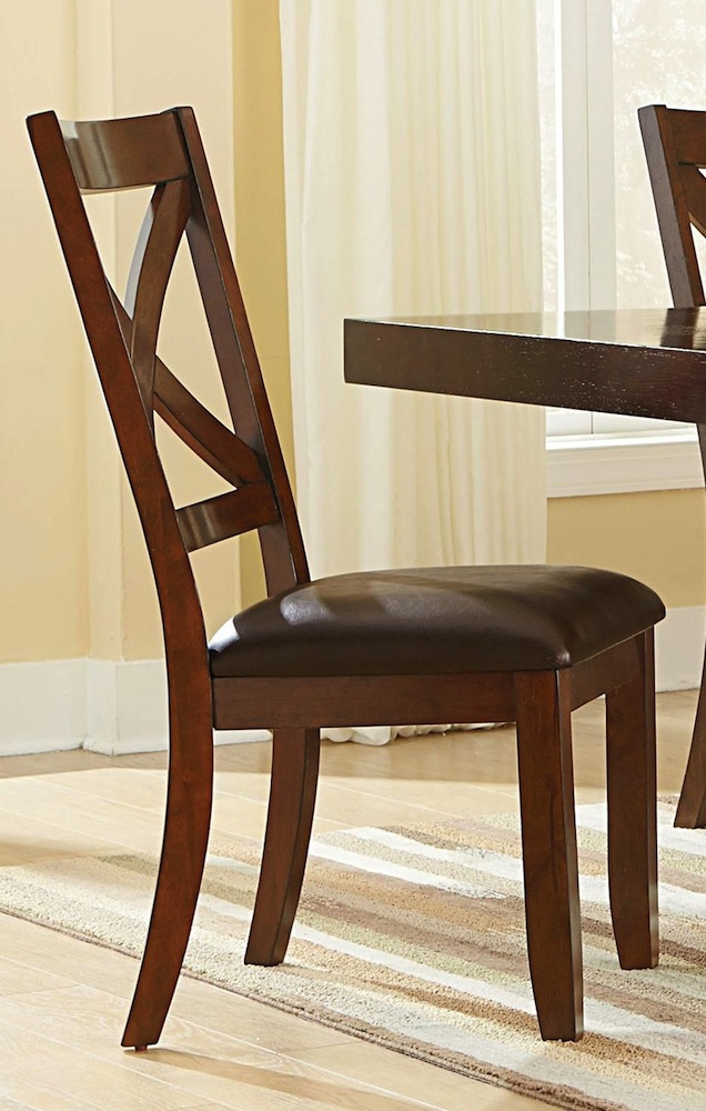 Omaha X Back Side Chair By Standard Lewis Furniture Store
