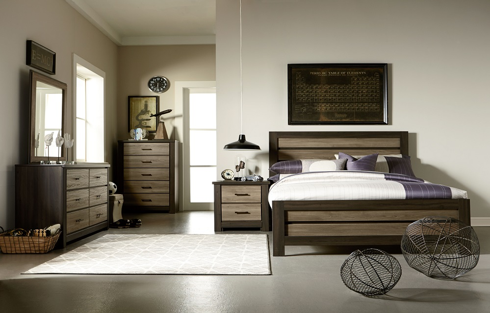 Oakland Panel Bed By Standard Lewis Furniture Store