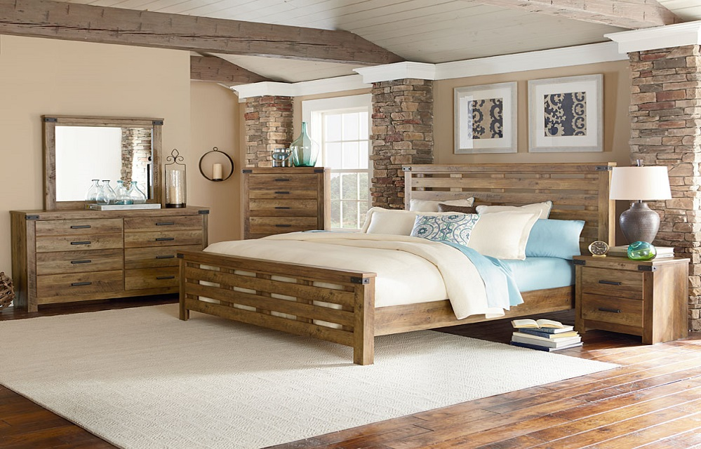 Montana Poster Bed By Standard Lewis Furniture Store