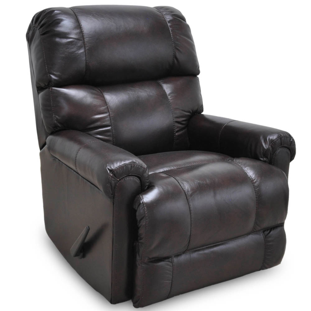 Captain Faux Leather Rocker Recliner By Franklin Lewis