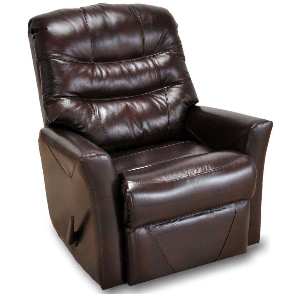 Patriot Faux Leather Rocker Recliner By Franklin Lewis