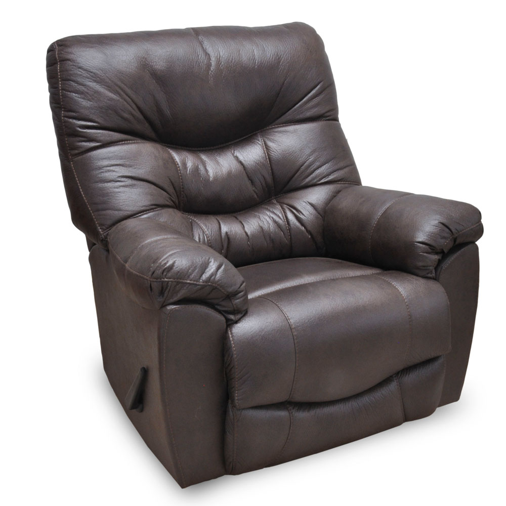 Trilogy Faux Leather Rocker Recliner By Franklin Lewis
