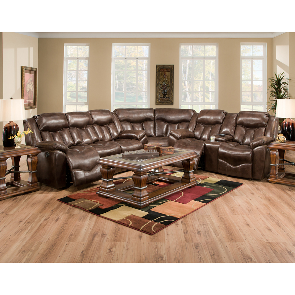 Hendrix Sectional By Franklin Lewis Furniture Store