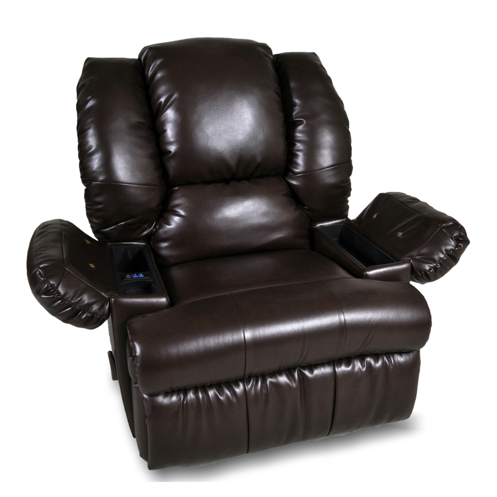 Canton Smart Blend Rocker Recliner By Franklin Lewis